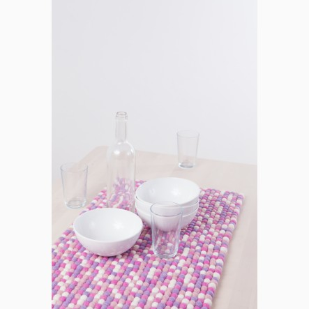 myfelt pink and rose Table Runner, 40 x 70 cm